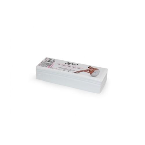 Papel para depilação com 100 unidades