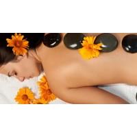 Massagem Terapêutica com pedras quentes