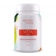 Vitta Relax Tropical Creme de Massagem Corporal 1000g
